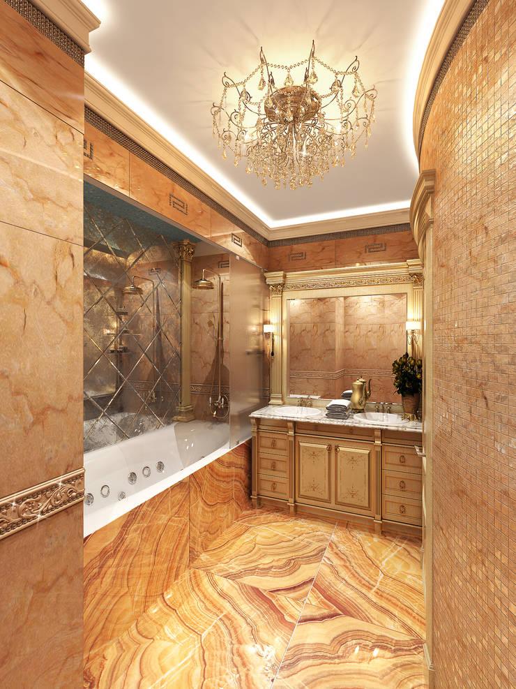 Гостевой санузел: Ванные комнаты в . Автор – Y&S ARCHITECTURE – INTERIOR DESIGN