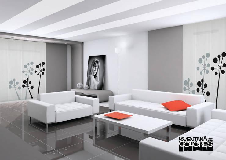 Ambientes actuales de La Ventana de Colores: Hoteles de estilo  de LA VENTANA DE COLORES