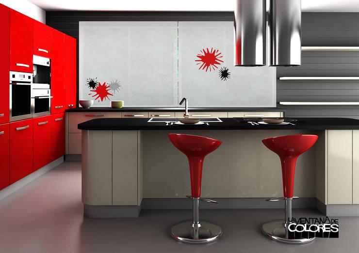 Ambientes actuales de La Ventana de Colores: Cocinas de estilo moderno de LA VENTANA DE COLORES
