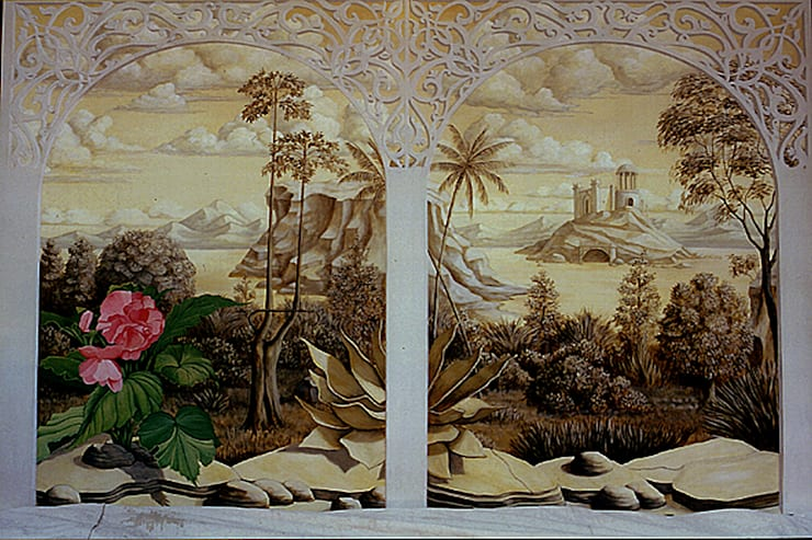 trompe l'oeil indiano di Artmande Classico