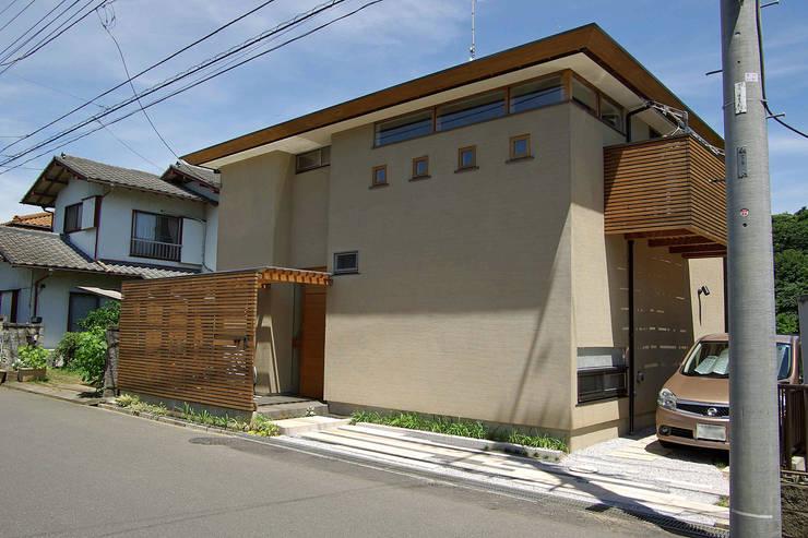 上座の家 ~田園ビュー~: 環境創作室杉が手掛けた家です。