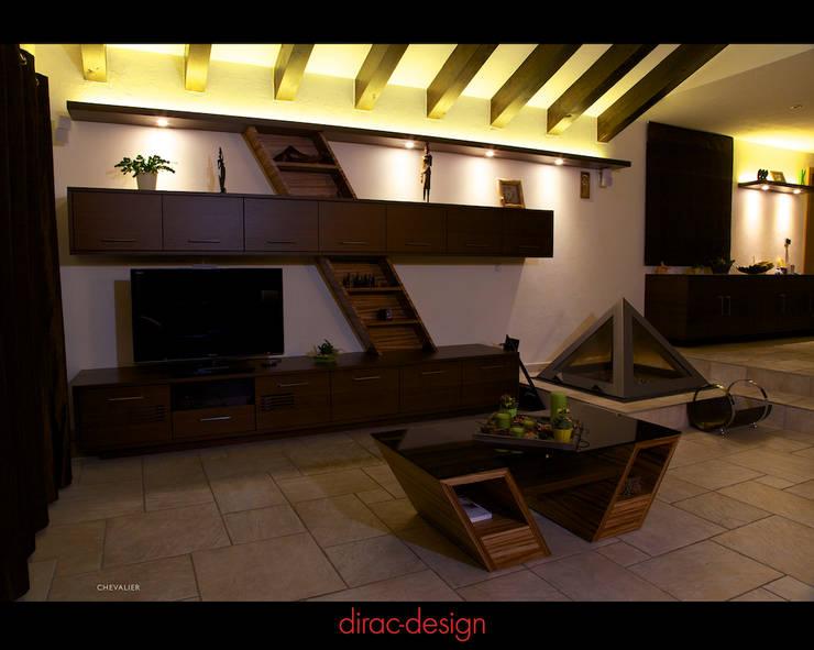 Séjour à Vollèges par Dirac Design Classique