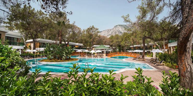 Nota Tasarım Peyzaj Mimarlığı Ofisi – Lagoon Villas Pool: akdeniz tarzı tarz Bahçe