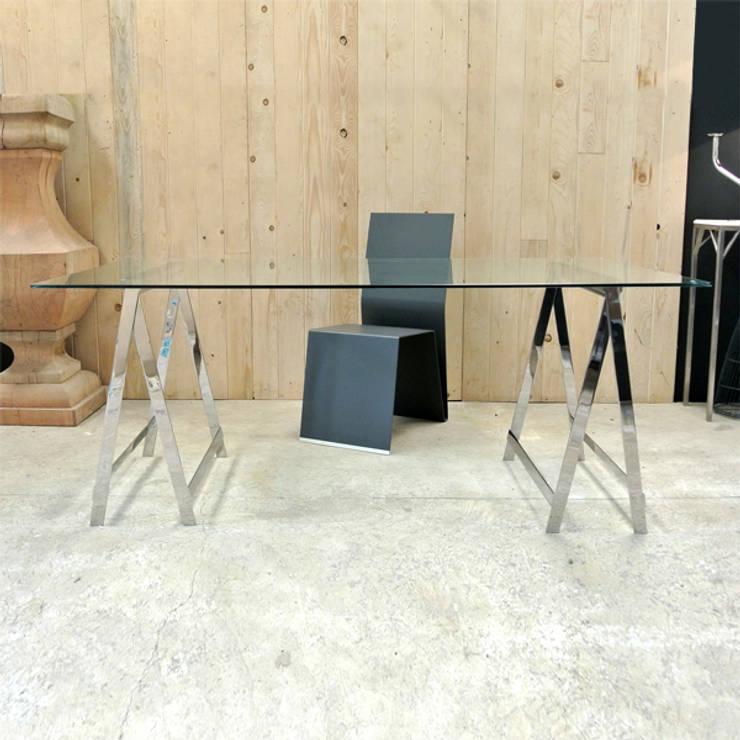 TRESLE TABLE: Bureau de style  par By Ultra