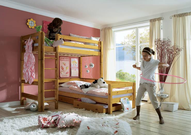 """Hochbett """"Kiddy"""": klassische Kinderzimmer von Allnatura"""
