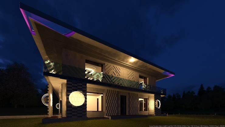 QR: Дома в . Автор – AGTC01