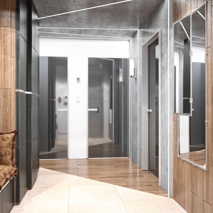 Квартира в современном стиле: Стены в . Автор – Студия архитектуры и дизайна ДИАЛ