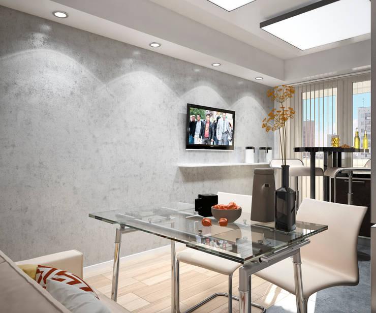 Квартира в современном стиле: Кухни в . Автор – Студия архитектуры и дизайна ДИАЛ