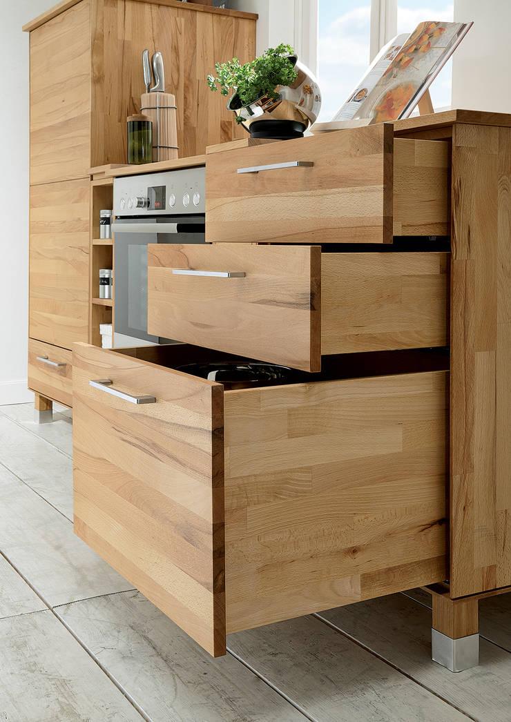 Massivholz Modulküche Von Allnatura Homify