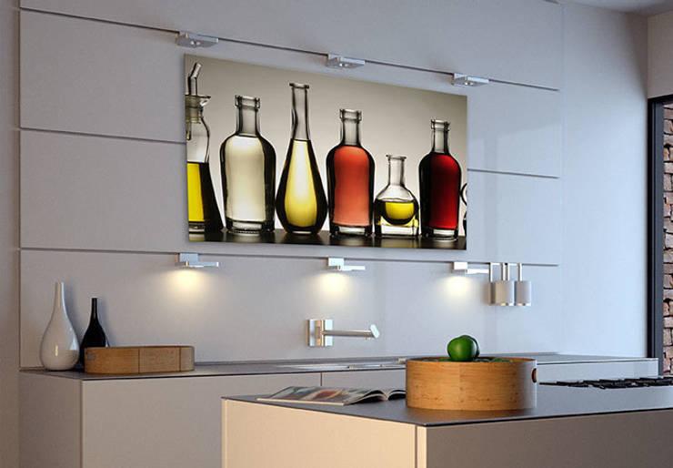 Tableau sur verre acrylique - Olio e Aceto: Dressing de style  par wall-art.fr