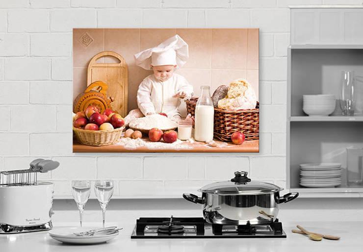 Chef Pâtissier: Cuisine de style  par wall-art.fr