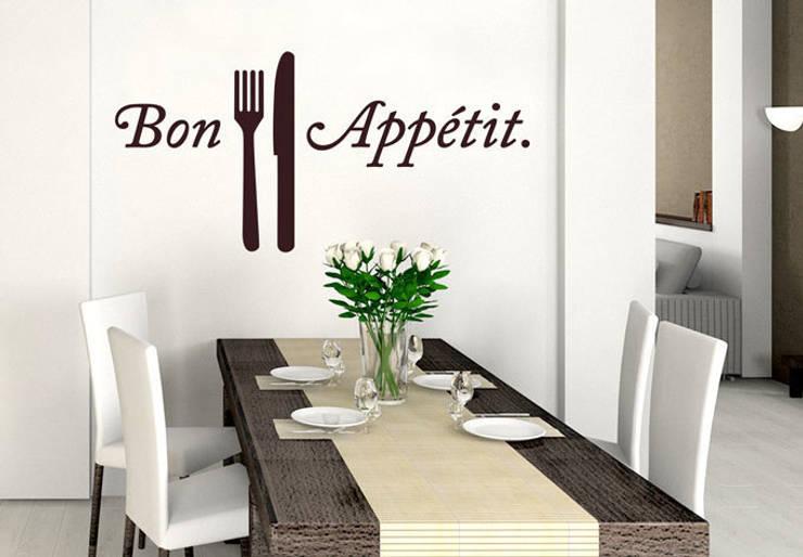 Sala da pranzo in stile in stile Eclettico di wall-art.fr
