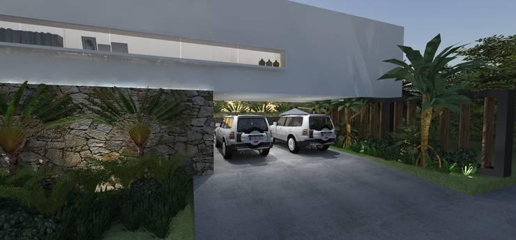 Casa JA: Casas  por ZAAV Arquitetura