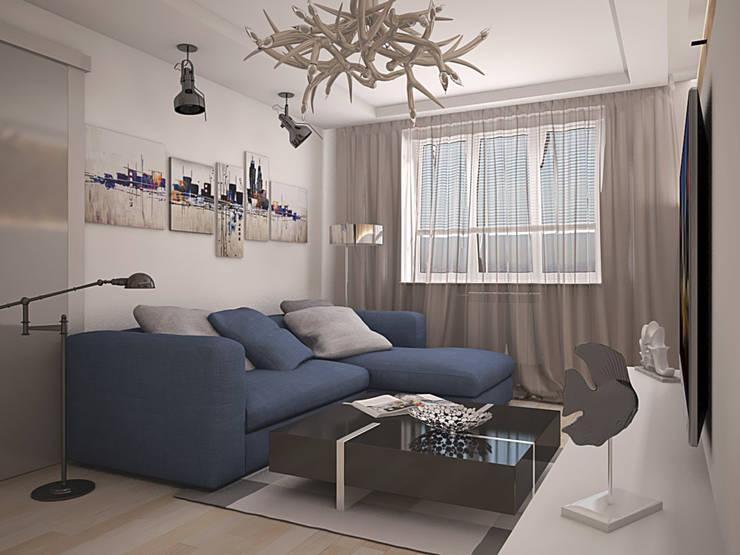 Livings de estilo ecléctico de Дизайн В Стиле Ecléctico