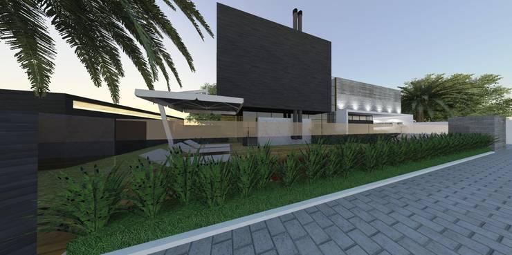 Casa FG: Casas  por ZAAV Arquitetura