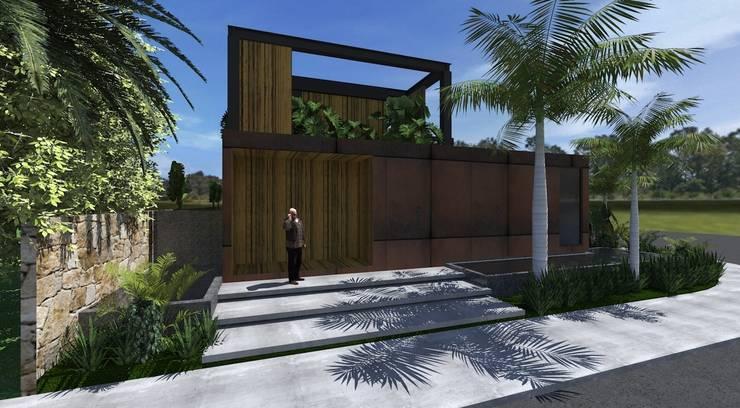 現代房屋設計點子、靈感 & 圖片 根據 ZAAV Arquitetura 現代風