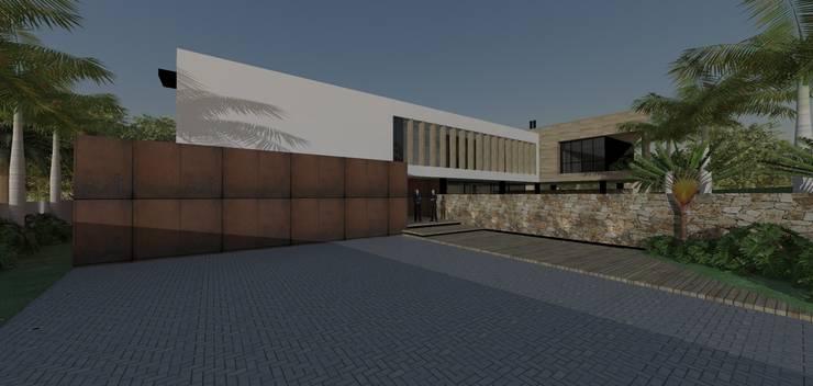 Casa JC: Casas  por ZAAV Arquitetura