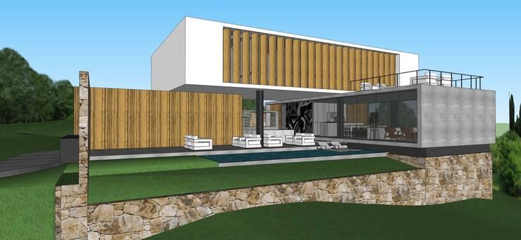 Casa DF:   por ZAAV Arquitetura