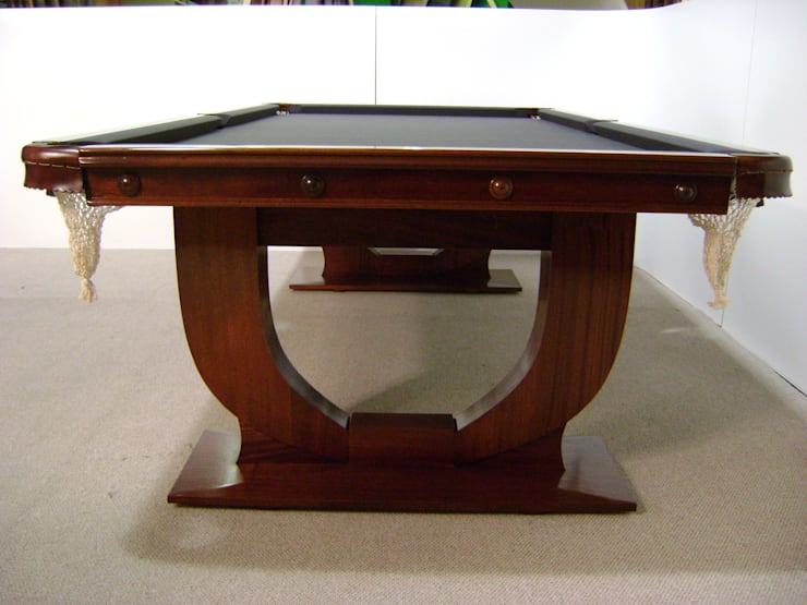 8 ft Ariel Convertible Dining Table with charcoal cloth:  Dining room by HAMILTON BILLIARDS & GAMES CO LTD