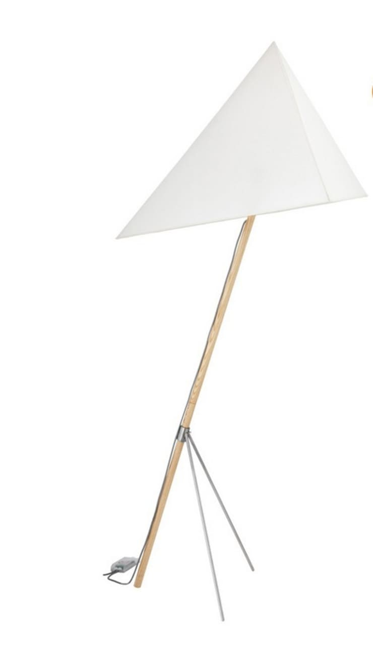 SAIL Floor Lamp by Nora Lederer:  Living room by All the hues