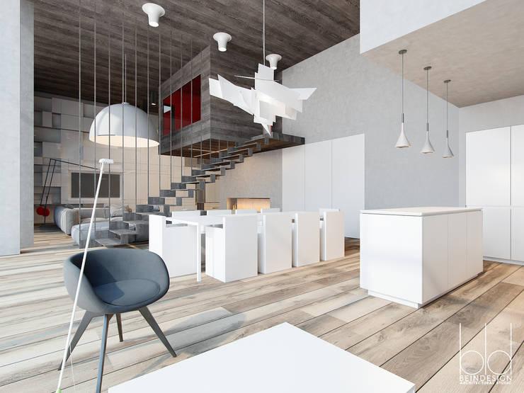 Частный дом на рублево-успенском шоссе: Кухни в . Автор – BEINDESIGN, Минимализм