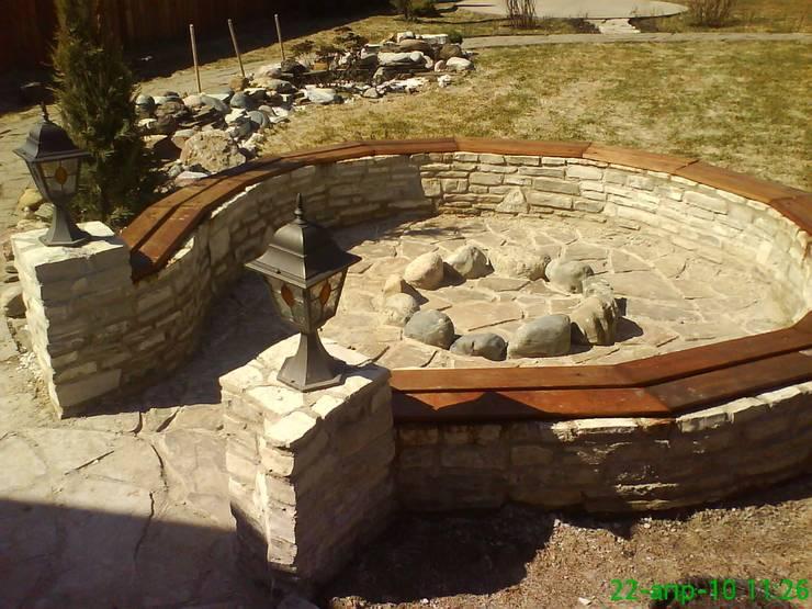 Projekty,  Ogród zaprojektowane przez TOPOS
