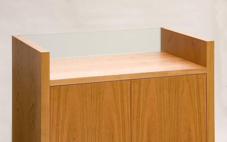 Hi Fi Cabinet - Detail:  Living room by Martin Greshoff Furniture