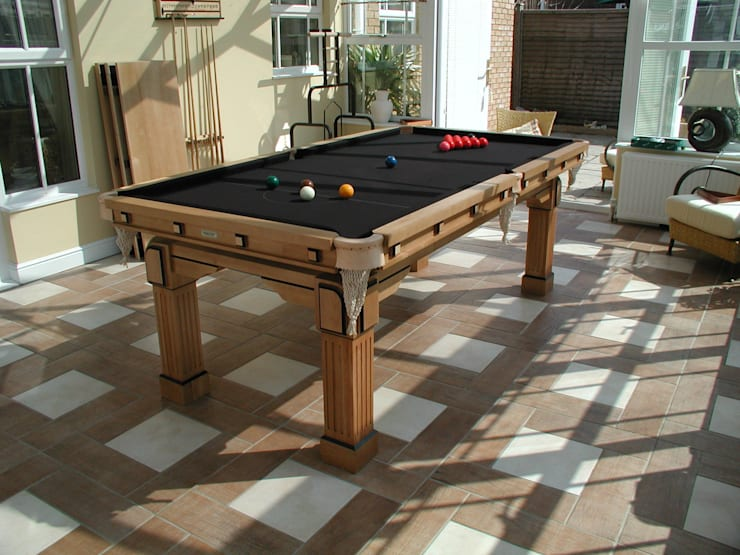 7 ft Fabio Convertible Dining Table:  Dining room by HAMILTON BILLIARDS & GAMES CO LTD