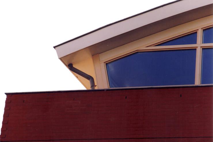 Detail dak-gevel: moderne Huizen door ABC-Idee