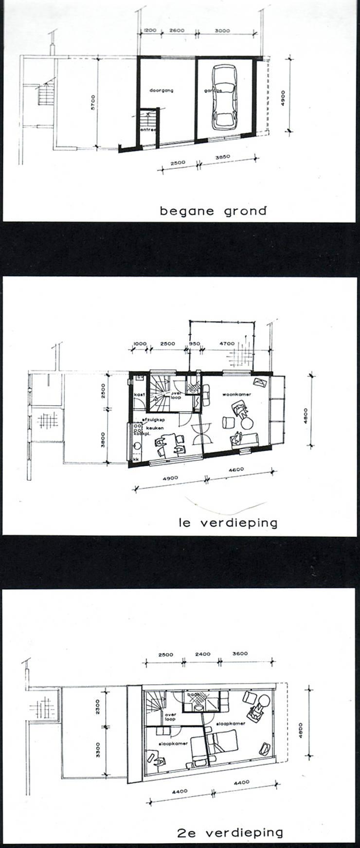 Woning aan het Hooghiemstraplein in Utrecht:   door ABC-Idee