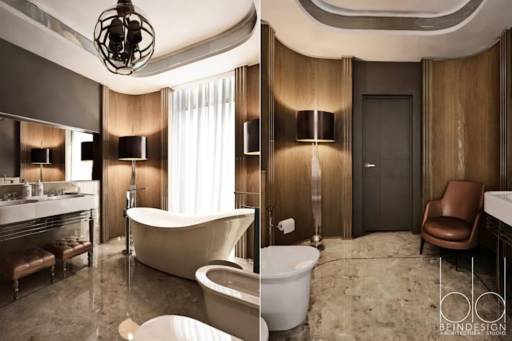 Bathroom by BEINDESIGN, Eclectic