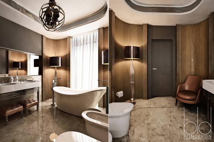 Ванная комната, арт-деко: Ванные комнаты в . Автор – BEINDESIGN