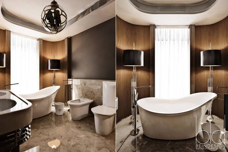Ванная комната, арт-деко: Гостиницы в . Автор – BEINDESIGN