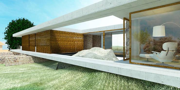 Casa I+F: Casas  por Artspazios, arquitectos e designers