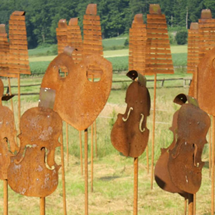 Nieheim:  Garden by Petherick, Urquhart & Hunt Landscape Consultancy