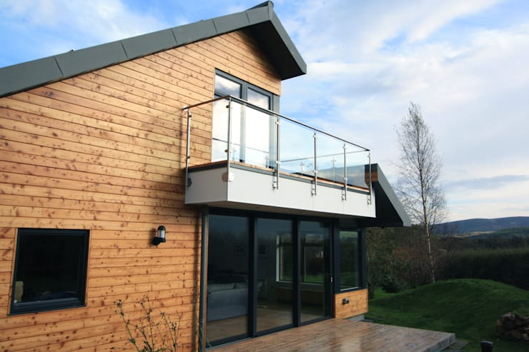 Drumellon:  Houses by Fiddes Architects