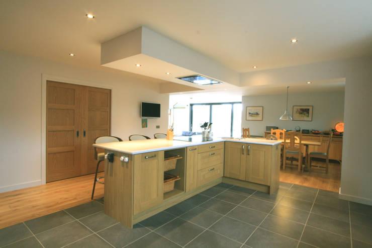 Drumellon:  Kitchen by Fiddes Architects