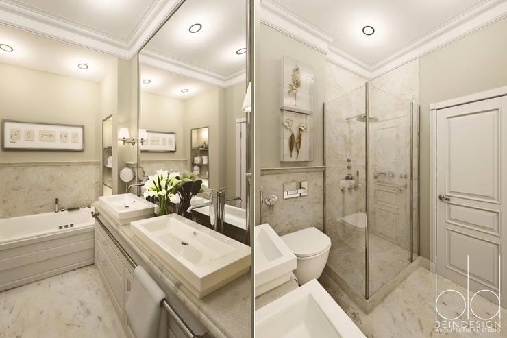 Ванная комната: Ванные комнаты в . Автор – BEINDESIGN