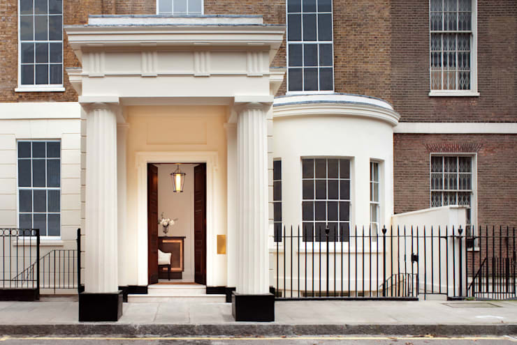 Project 4 Connaught Place, Marble Arch:  Houses by Flairlight Designs Ltd