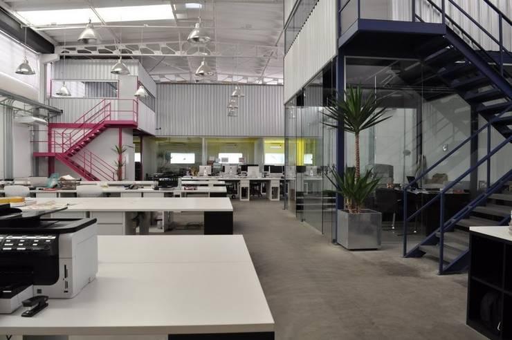 Agência We Comunicação: Edifícios comerciais  por MM18 Arquitetura