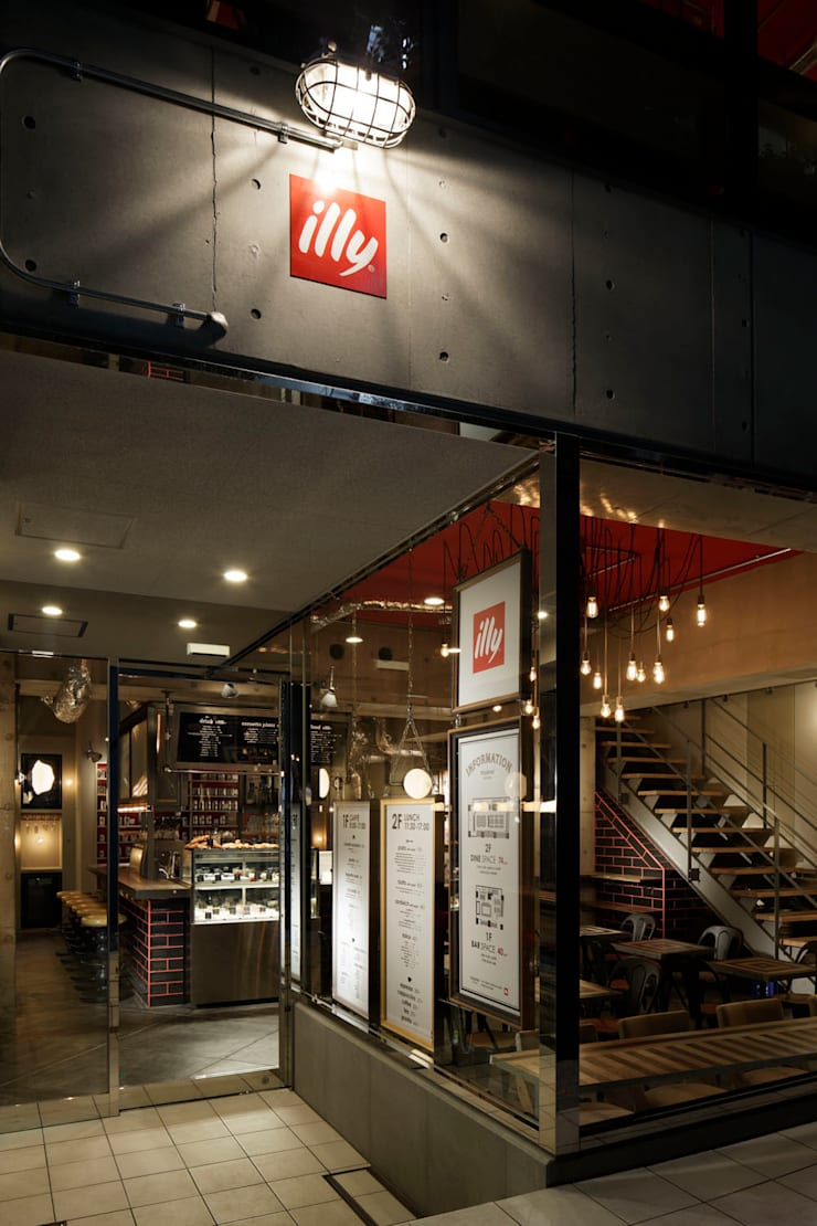 FACADE/2: BaNANA OFFICE INC.が手掛けたレストランです。,インダストリアル