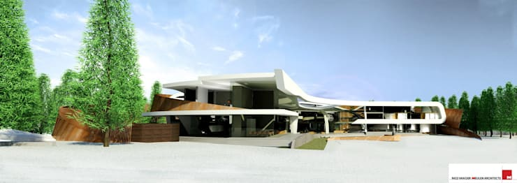 House In Moscow :  Houses by Nico Van Der Meulen Architects