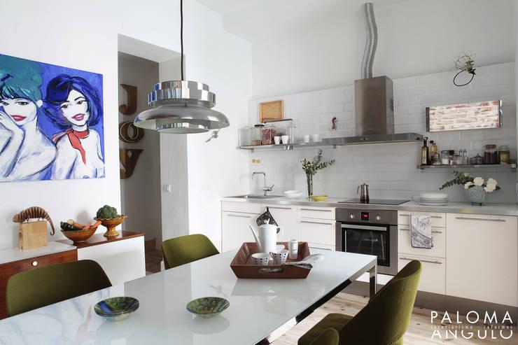 مطبخ تنفيذ Interiorismo Paloma Angulo