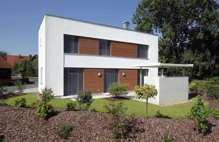Bild 2: moderne Häuser von Massiv mein Haus aus Mauerwerk