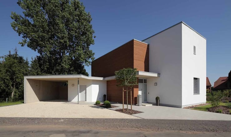 Bild 1: moderne Häuser von Massiv mein Haus aus Mauerwerk