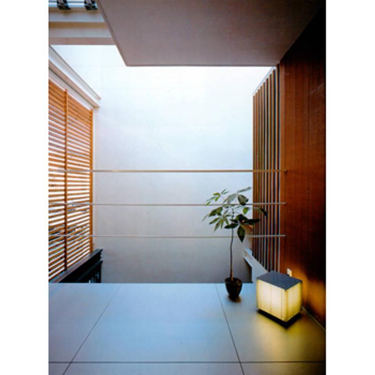 下鴨の家: sdoが手掛けた廊下 & 玄関です。,和風