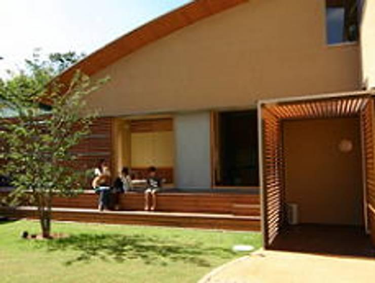 T 邸: HTAデザイン事務所が手掛けた家です。