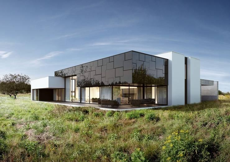 Dom na Stokach: styl , w kategorii Domy zaprojektowany przez REFORM Architekt Marcin Tomaszewski
