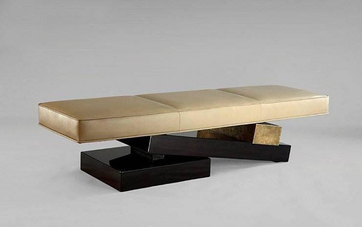Banc Van Der Straeten : Salon de style  par Fabrice Mullet