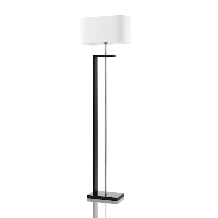 NATEZA Black Floor Lamp:  Living room by All the hues
